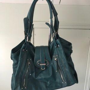 Nine West Teal Leather handbag